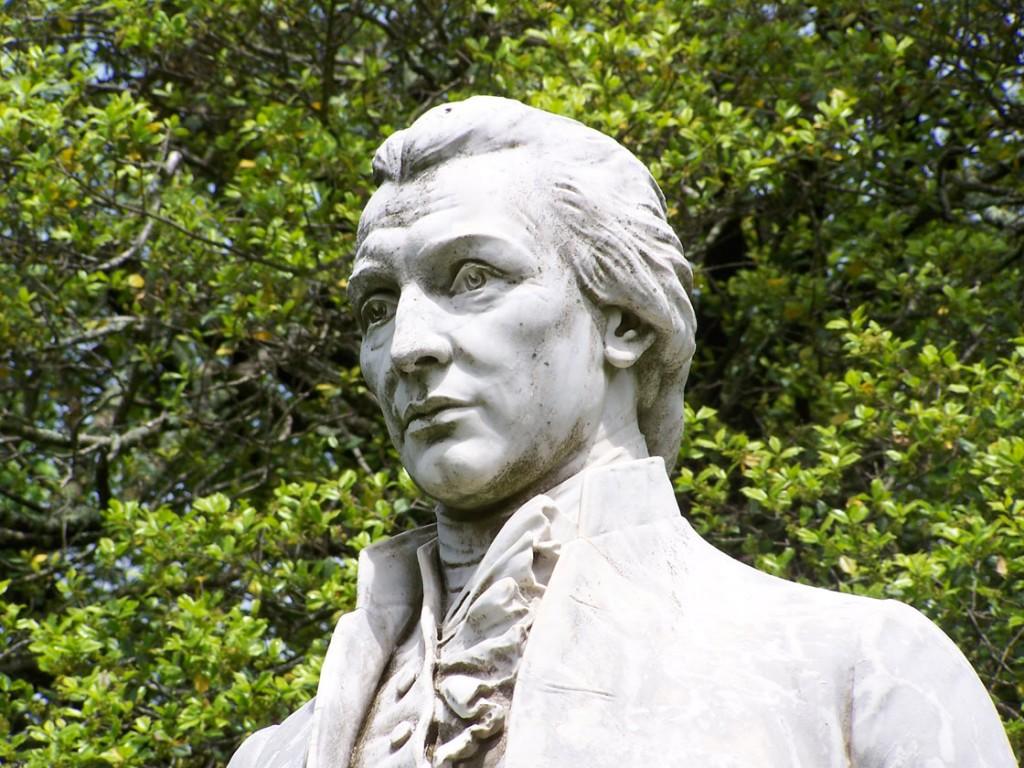 James Monroe Statue
