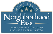 Monticello Neighborhood Pass