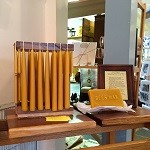 Kim Radcliffe beeswax candles