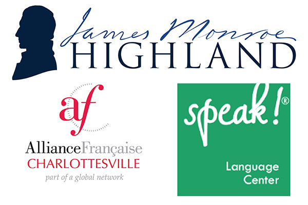 Language camp partner logos