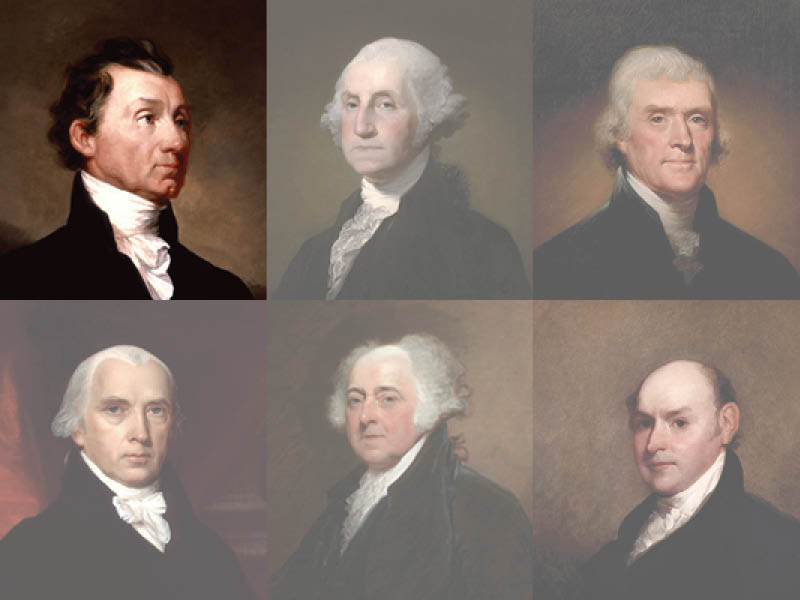 Founding American presidents